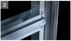 Schiebetür - Systeme Syntesis Line EF Trockenbau Einbaukasten - Detailansicht 2