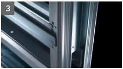 Schiebetür - Systeme Syntesis Line EF Trockenbau Einbaukasten - Detailansicht 3