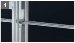 Schiebetür - Systeme Syntesis Line EF Trockenbau Einbaukasten - Detailansicht 4