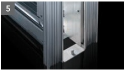 Schiebetür - Systeme Syntesis Line EF Trockenbau Einbaukasten - Detailansicht 5