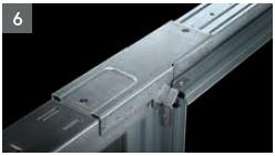 Schiebetür - Systeme Syntesis Line EF / DF Trockenbau Einbaukasten - Detailansicht 6