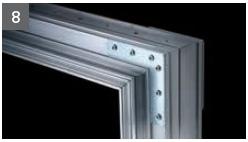 Schiebetür - Systeme Syntesis Line EF / DF Trockenbau Einbaukasten - Detailansicht 8