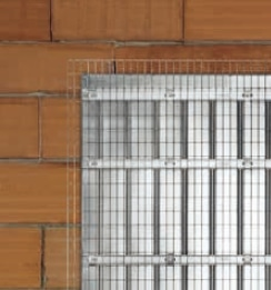 Schiebetür - Systeme Syntesis Line EF / DF Massivwand Einbaukasten - Putzträger - Detailansicht