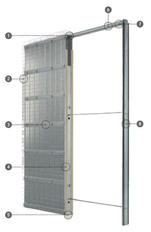 UNICO EF Massivbau Einbaukasten Details